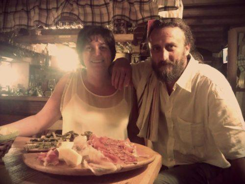 Il nostro Amaro al Tarassaco all'Enoteca Corona di Erto (PN)