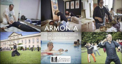ARMONIA – Castello di Belgioioso (PV) – 2/4 Giugno