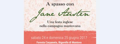 EVENTO JANE AUSTEN – SAN GIORGIO DI MANTOVA – 24/25 Giugno