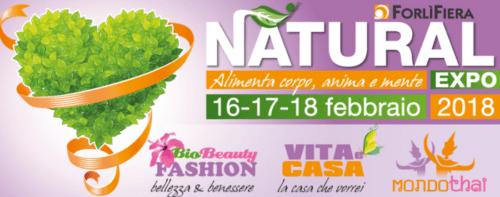 Natural Expo 2018 – Forlì – 16/18/18 Febbraio