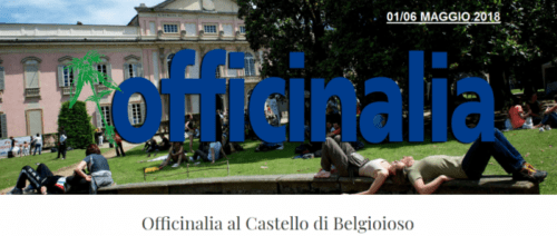OFFICINALIA 2018 – 01-06 Maggio – Belgioioso