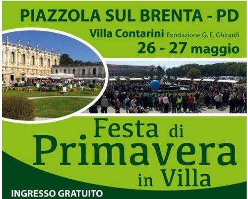 Festa di Primavera – Villa Contarini (Piazzola sul Brenta – PD)