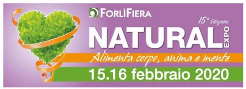 NATURAL EXPO 2020 – 14/15 FEBBRAIO – FORLI'